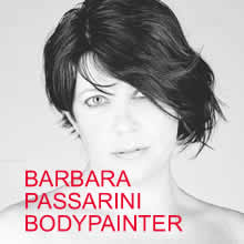 Barbara Passarini Bodypainter