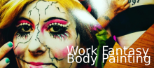 Work Fantasy e Body painting
